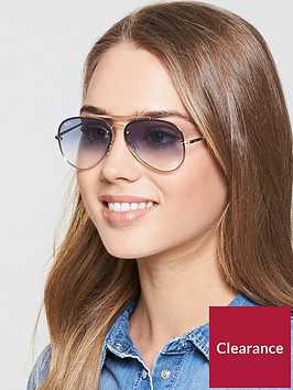 ray-ban-highstreet-sunglasses--nbspclear-gradientnbsplight-bluenbsp