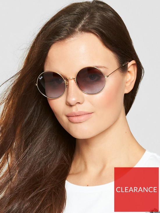 8db9d0e8bbada Ray-Ban Ray-Ban Youngster Round Sunglasses - Pink