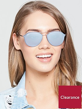 ray-ban-highstreetnbspmirror-sunglasses--nbspdark-violetnbsp