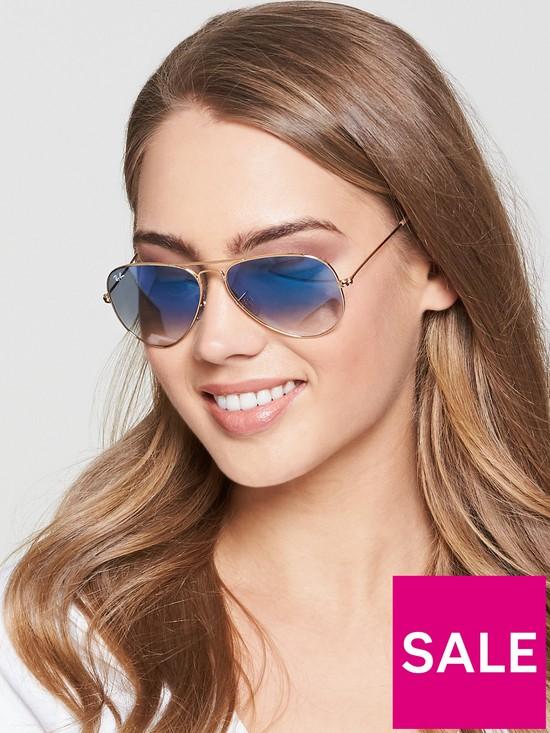 7d7fab0ad2 Ray-Ban Highstreet Sunglasses - Blue Gradient