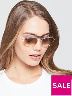 ray-ban-brow-bar-sunglasses-tortoiseshell