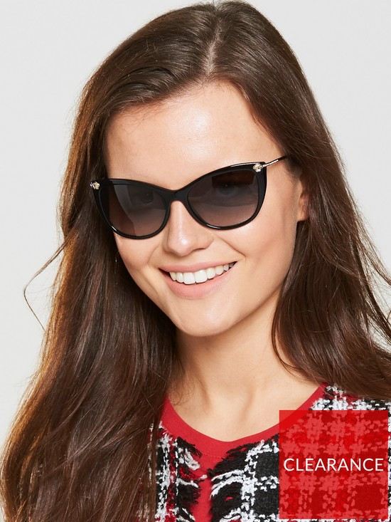 d7139545aa26 VERSACE Cateye Sunglasses