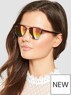 ray-ban-brow-bar-sunglasses-tortoiseshellgold
