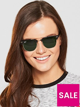 ray-ban-brow-bar-sunglasses-black