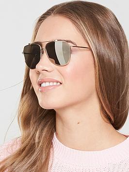 Dolce & Gabbana Aviator Sunglasses - Gold Tone
