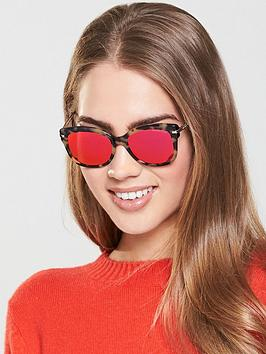 Michael Kors Oval Sunglasses - Tortoiseshell