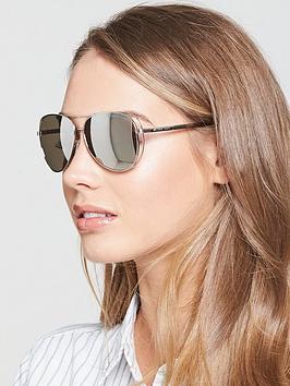 Michael Kors Michael Kors Side Detail Aviator Sunglasses
