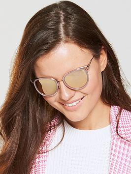 Michael Kors Cateye Sunglasses - Gold