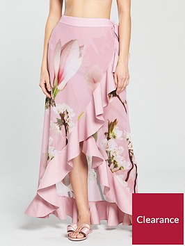 ted-baker-berelli-ruffle-wrap-skirt-floral-print