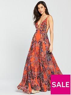 forever-unique-susanne-beach-maxi-dress-orange