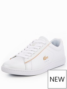 910675a48 Lacoste Carnaby Evo 118 6 Spw Wht gld