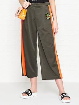 versus-versace-sports-stripe-wide-leg-trousers-khaki