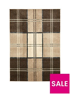 ideal-home-wallis-check-rug