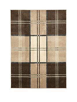 ideal-home-wallis-check-rug