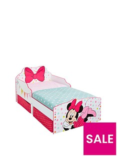 minnie-mouse-toddler-bed-with-underbed-storage-drawers