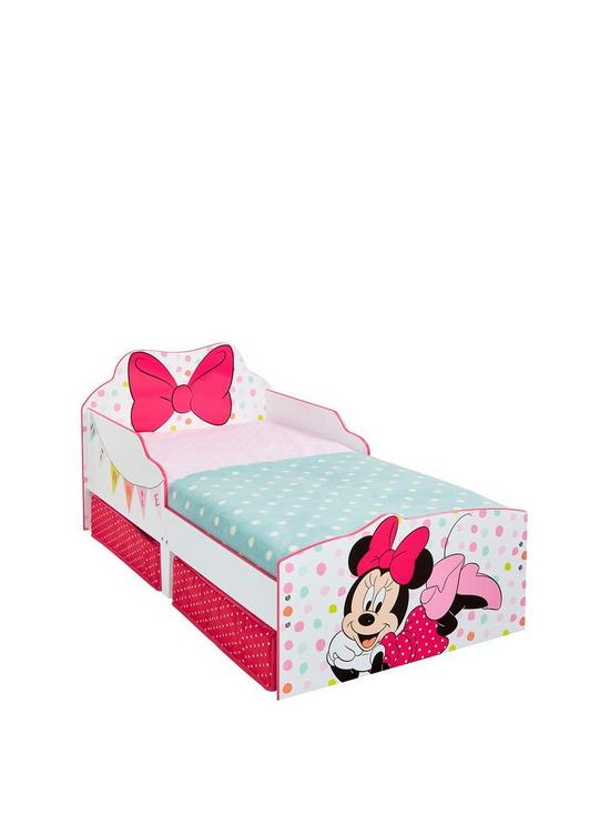 Minnie Mouse Minnie Mouse Toddler Bed with underbed storage by ...