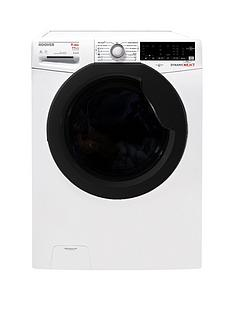 Hoover WDXOA496AHFN 9kg Wash, 6kg Dry, 1400 Spin Washer Dryer with One Touch - White/Black