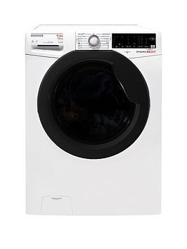 hoover-wdxoa496ahfn-9kgnbspwash-6kgnbspdry-1400-spin-washer-dryer-with-one-touch-whiteblack