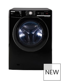 Hoover WDXOA496AHFNB 9kgWash, 6KgDry, 1400 Spin Washer Dryer - Black