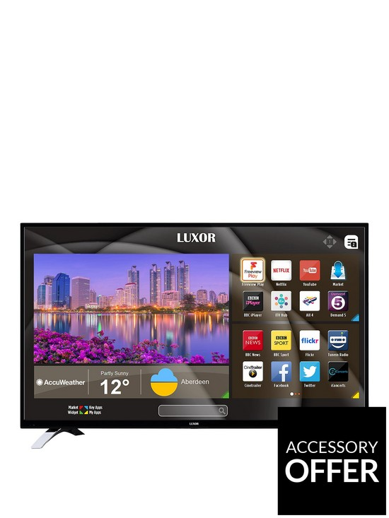 Luxor 55 inch 4K, Freeview HD, LED, Smart TV