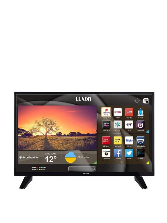 Luxor 32 Inch Hd Ready Smart Tv With Built In Dvd Player Verycouk