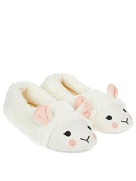 accessorize-mia-sheep-ballerina-slippers--nbspcream