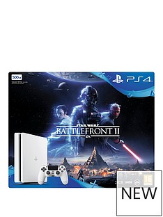 ps4-500gb-white-slim-console-with-star-wars-battlefront-2