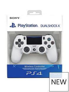sony-playstation-4-glacier-white-dualshock-controller