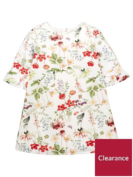 mini-v-by-very-girls-floral-fluted-sleeve-shift-dress