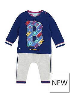 baker-by-ted-baker-baby-boys039-multi-coloured-sweatshirt-and-jogging-bottoms-outfit