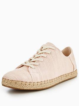 Toms Lena Lace Up Shoe - Bloom