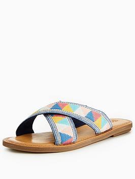 Toms Viv Cross Slide Sandal