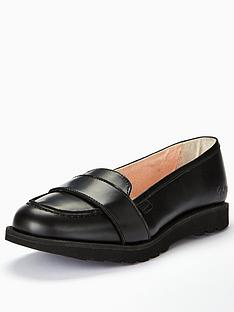 kickers-kick-c-lite-strap-leather-loafer-black