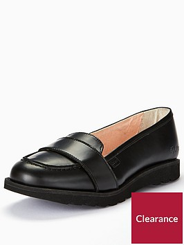 kickers-kick-c-lite-strap-leather-loafer-black
