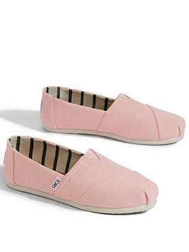 Toms Alpargata Espadrille - Pink