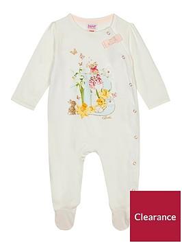 baker-by-ted-baker-baby-girls039-off-white-039b039-glitter-sleepsuit