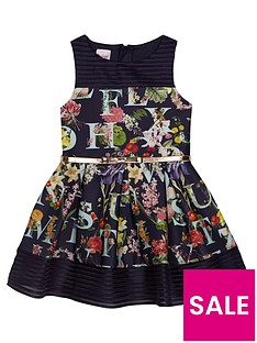 baker-by-ted-baker-girls039-navy-floral-print-scuba-dress