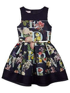 baker-by-ted-baker-girls039-navy-floral-print-scuba-dress