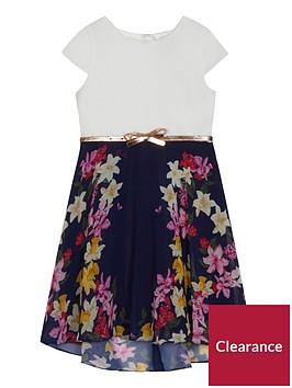 baker-by-ted-baker-girls039-navy-floral-print-belted-dress