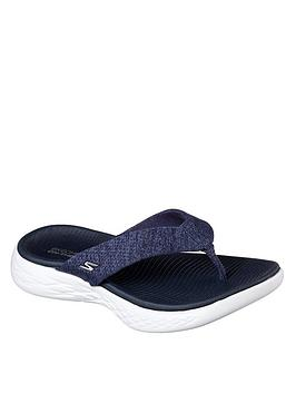 skechers-on-the-go-600-glisten-sandal-navywhite