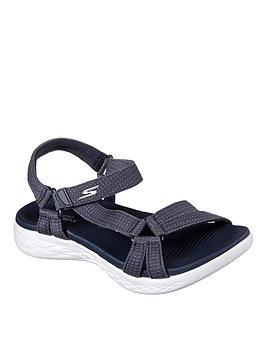 Skechers On The Go 600 Brilliancy Sandal - Navy