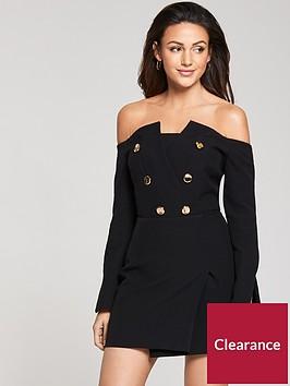 michelle-keegan-bardotnbspblazer-dress