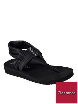 skechers-meditation-disco-sandal-black