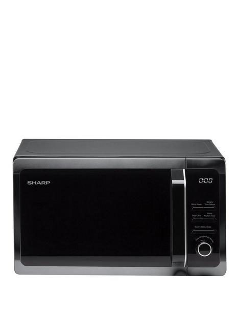 sharp-r274km-20l-800w-solo-microwave-black