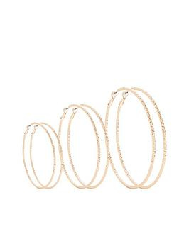 v-by-very-3-pack-hoop-earrings