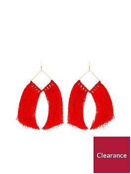 v-by-very-oversized-tassel-earrings-rednbsp