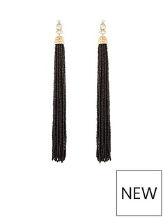 v-by-very-oversized-beaded-tassel-earrings