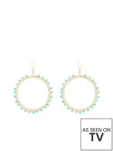 v-by-very-bead-detail-hoops-gold
