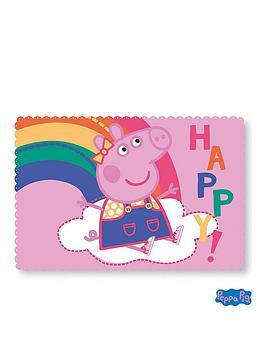 peppa-pig-hooray-fleece-blanket