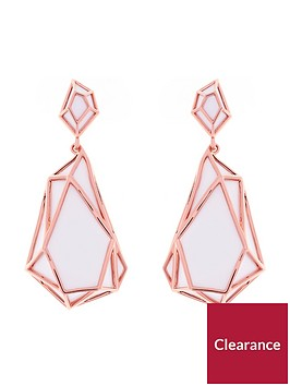 karen-millen-colour-shard-statement-drop-earrings